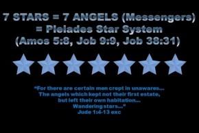 7 Stars & 7 Candles = Pleiades & Humans (Rev 1-3)