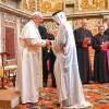 POPE devoutly TIES himself to KORAN