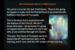 Rosh Hashanah And Its Hidden Secret – No Man Knows The Day Or Hour