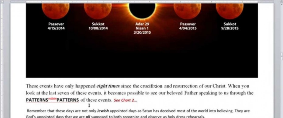 Blood Moon Tetrads and Solar Eclipses