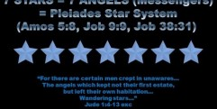 7 Stars & 7 Candles = Pleiades & Humans (Rev 1-3)