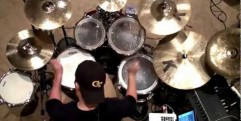 Cobus Hillsong Zion 2013 Mighty To Save (Drum Cover)HD.